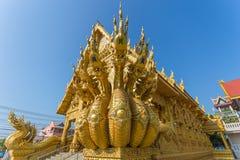Wat Sri Phanton Buddhist Temple en Nan Province Thailand photos libres de droits