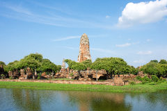 Wat Sri Sanphet. Sri Sanphet, Ayutthaya, is now a historic site Royalty Free Stock Image