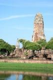 Wat Sri Sanphet, Ayutthaya. Sri Sanphet, Ayutthaya, is now a historic site Royalty Free Stock Images