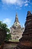 wat sri sanphet phra ayutthaya5 стоковое фото rf