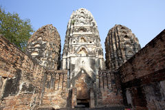 Wat sri sawai at Sukhothai Historical Park Stock Photography