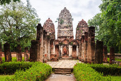 Wat sri sawai in sukhothai historical park Stock Images
