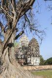 Wat Sri Sawai in Sukhothai Stock Images