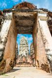 Wat Sri Sawat temple in Sukhothai, Thailand royalty free stock photo