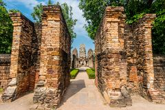 Wat Sri Sawat temple in Sukhothai, Thailand Stock Photography