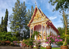 Wat Sri Sunthon-tempel op Phuket Stock Afbeeldingen