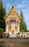 Wat Sri Sunthon tempel på Phuket Royaltyfria Bilder