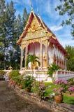 Wat Sri Sunthon tempel på Phuket Fotografering för Bildbyråer