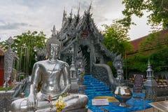 Wat Sri Suphan lizenzfreie stockfotos