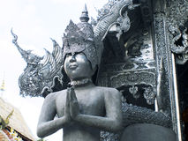 Wat Sri Suphan, Chiangmai Imagen de archivo