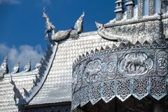Wat Sri Suphan, the famous Silver Temple Royalty Free Stock Photo