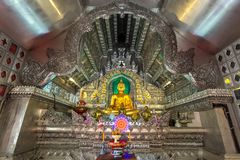 Wat Sri Suphan, the famous Silver Temple Royalty Free Stock Photography