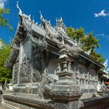 Wat Sri Suphan, the famous Silver Temple Royalty Free Stock Photos