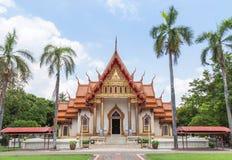 Wat Sri Ubon Rattanaram thai buddistisk tempel i Ubonratchathani Thailand Arkivbild