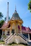 Wat Srisu Chce Taranować uderzenie Pora, Samui, Tajlandia Obrazy Stock