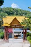 Wat Srisu Chce Taranować uderzenie Pora, Samui, Tajlandia Obraz Royalty Free
