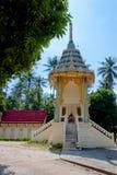 Wat Srisu Chce Taranować uderzenie Pora, Samui, Tajlandia Zdjęcie Stock