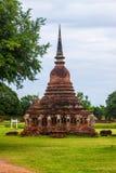 Wat Srosak temple ruin Royalty Free Stock Image