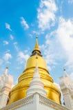 Wat Suan Dok. известный висок в Чиангмае стоковое фото rf