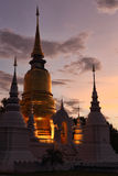 Wat Suan Dok Immagini Stock