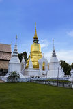 Wat Suan Dok in Chiang Mai Royalty Free Stock Images