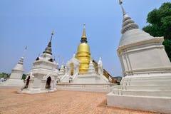 Wat Suan Dok , Chiang Mai Royalty Free Stock Photos