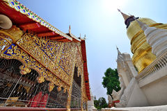 Wat Suan Dok , Chiang Mai. Wat Suan Dok  is a Buddhist temple (Wat) in Chiang Mai, northern Thailand. It is a Royal Temple of the Third Class. The temple is Royalty Free Stock Photos