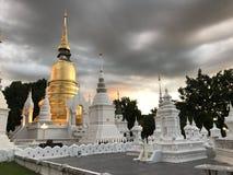 Wat Suan Dok, Chiang Mai stock photos