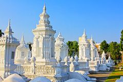 Wat Suan Dok, Chiang Mai, Thailand Royalty-vrije Stock Afbeelding