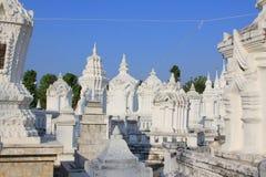 Wat Suan Dok Chiang Mai, Thailand Royaltyfria Foton