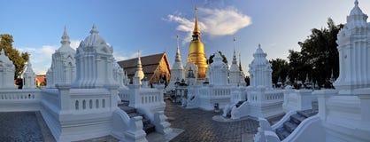 Wat Suan Dok Stock Photo