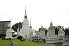 Wat Suan Dok in Chiang Mai, Thailand Stock Afbeeldingen