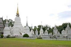 Wat Suan Dok in Chiang Mai, Thailand Royalty-vrije Stock Afbeeldingen