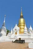 Wat Suan Dok, Chiang Mai, Thailand Stock Photo
