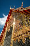 Wat Suan Dok in Chiang Mai, Thailand Stock Photo