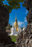 Wat Suan Dok, Chiangmai, Таиланд Стоковая Фотография RF