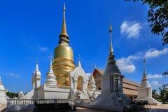 Wat Suan Dok, Chiangmai, Tailandia Immagini Stock