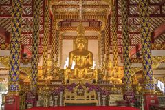 Wat Suan Dok, Chiangmai, Tailandia fotografía de archivo libre de regalías