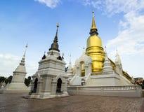 Wat Suan Dok en Chiang Mai Imágenes de archivo libres de regalías