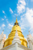 Wat Suan Dok. famous temple in Chiang Mai Royalty Free Stock Photo