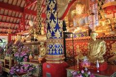 Wat Suan Dok i Chiang Mai Royaltyfri Foto