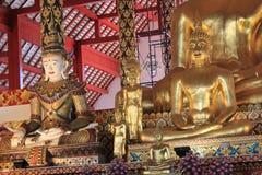 Wat Suan Dok i Chiang Mai Royaltyfria Foton