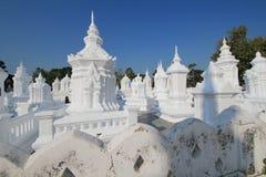Wat Suan Dok i Chiang Mai Arkivfoton