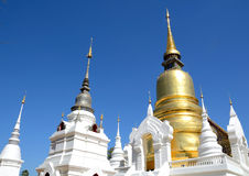 Wat Suan Dok  pagoda Royalty Free Stock Photo