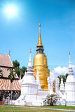 Wat Suan Dok Temple in Chiang Mai, Thailand Royalty Free Stock Image