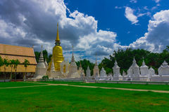 Wat Suan Dok Temple Royalty Free Stock Photography