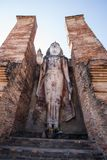 Wat Sukothai,泰国 库存照片