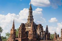 Wat Sukothai Thailand Arkivfoton