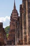 Wat Sukothai Thailand Arkivbilder