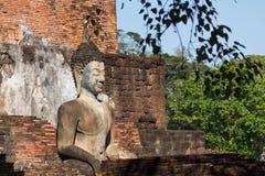 Wat Sukothai Thailand Arkivfoto